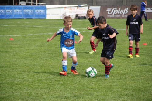 Das Lustenauer Holzstadion steht am Wochenende wieder ganz im Zeichen des Fußballnachwuchses.cth