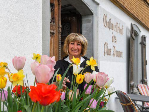 Das Max Danner hat Gertraud Pinkelnig von ihrer Mutter Erna Hilbe (Bild unten) übernommen. Sie führte es mehr als drei Jahrzehnte. VN/Lerch, Volare Risch-Lau