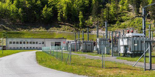 Das ÖBB-Kraftwerk in Innerbraz wird seit einigen Jahren umweltfreundlich geheizt. ÖBB/Fritscher