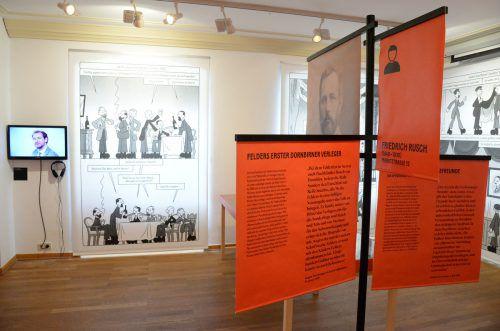 """Das Stadtmuseum Dornbirn, das Stadtarchiv Bregenz und das Egg Museum haben sich auf Anregung des Franz-Michael-Felder-Archivs der Vorarlberger Landesbibliothek zusammengeschlossen, um im Felder-Gedenkjahr 2019 das kooperative Ausstellungsprojekt """"FM.Felder@"""" zu realisieren.stadt dornbirn/Hämmerle"""