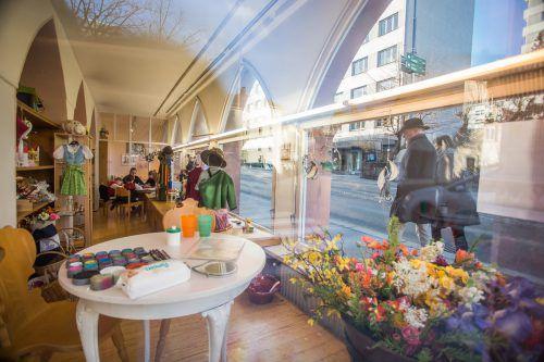 Das Vorarlberger Heimatwerk in der Bregenzer Montfortstraße kann nicht mehr rentabel geführt werden.VN/Steurer
