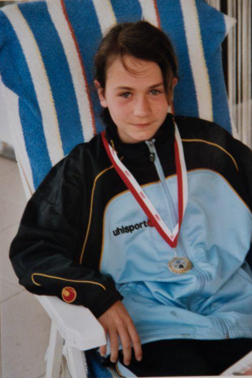 Das war Claudia vor zwölf Jahren bei der Gymnaestrada.VN/Steurer