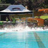 Schwimmen und Laufen bei Kaiserwetter