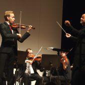 Der 19-jährige David Kessler war Star der Götzner Orchestermatinee am Sonntag. D6