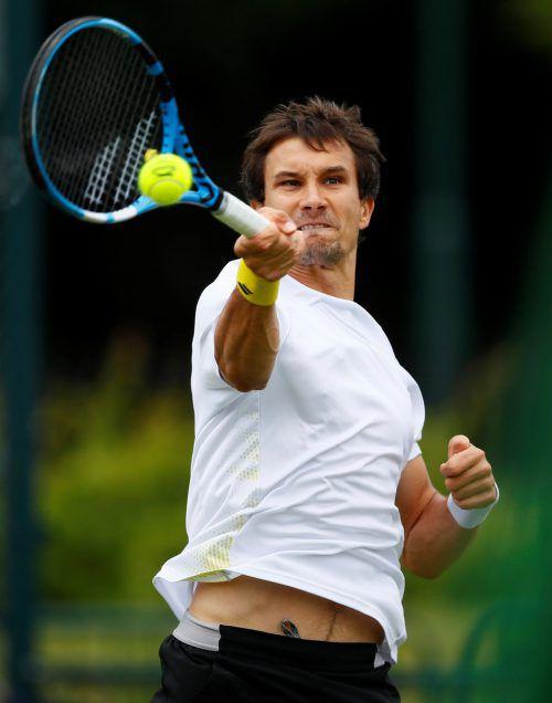 Dennis Nowak verpasste eine Wild Card für Wimbledon.ap