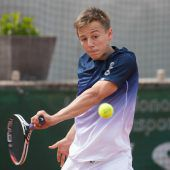 Niklas Rohrer stehtim Halbfinale