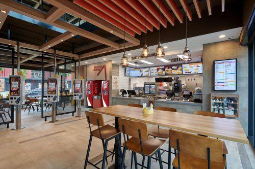 Der erste Burger King Vorarlbergs öffnet in Dornbirn seine Türen.Bürger King