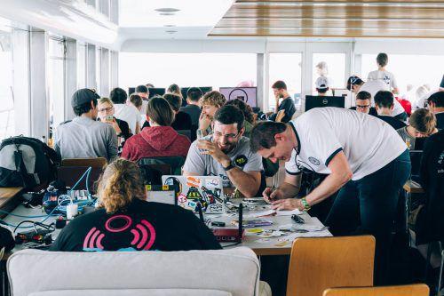Der Hackathon feiert heuer seine bereits fünfte Auflage, diesmal im Illwerke Zentrum in Vandans. Weissengruber