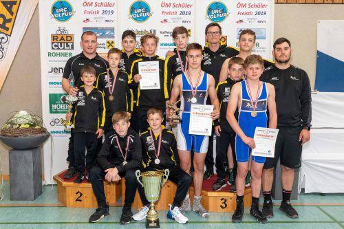 Der KSK Klaus war u. a. bei der Schülermeisterschaft die Nummer eins.Verein