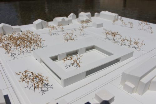 Der neue Koblacher Kindergarten wird Platz für drei Gruppen haben, eine Aufstockung wäre aber möglich. Gemeinde