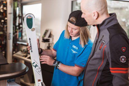 Der Sportartikelhandel hat im vergangenen Jahr im Land neue Geschäfte und Filialen eröffnet (Bild: Intersport Arlberg).Fa