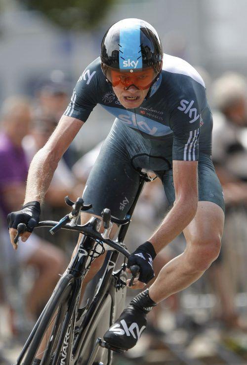 Der vierfache Tour-de-France-Sieger Chris Froome befindet sich nach seinem schweren Sturz bei einer Trainingsfahrt mit mehreren Knochenbrüchen und multiplen Verletzungen auf der Intensivstation.AFP