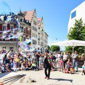 Kunterbunter Kinderspaßin der Landeshauptstadt