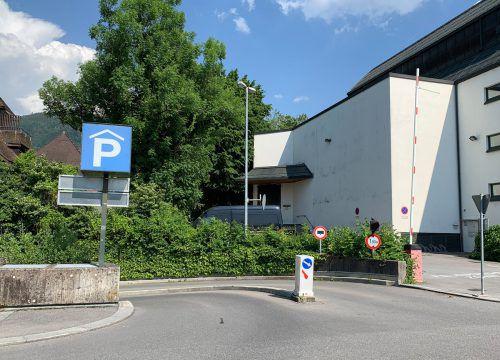 Die Einfahrt in die Kulturhausgarage wird überbaut. STD