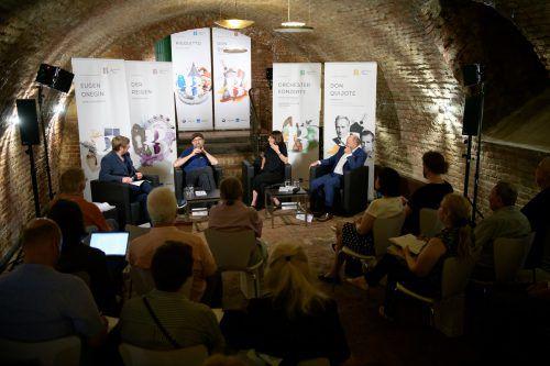 Die Festspielleitung präsentierte das Programm nun auch in Wien. apa/hörmandinger