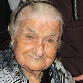 Älteste Frau Europas mit 116 Jahren in Italien gestorben
