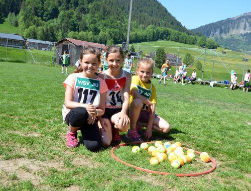 Die Kinder aus dem Hinterwald gaben in Au ihr Bestes.