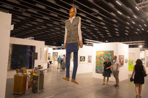Die Kunstmesse Art Bodensee ist bis Sonntag geöffnet. VN/KH