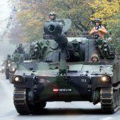Finanz- und Verteidigungsminister planen Aussprache zum Heer