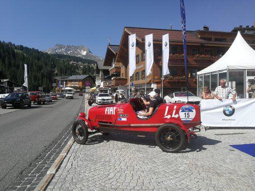 Die Lenker präsentieren fast 100 Jahre Automobilgeschichte.