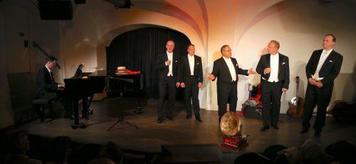 """""""Die Männer und Tenöre"""" boten wieder ein abwechslungsreiches Programm. Emir T. Uysal"""