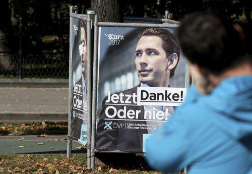 Die ÖVP konnte 2017 mehr Spenden einsammeln, als vorher bekannt war. AP