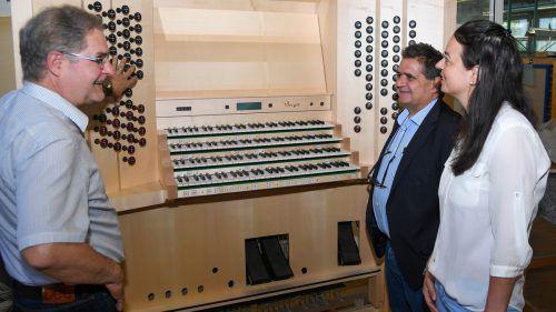 Die Rieger-Orgeln ziehen weltweit alle Register.