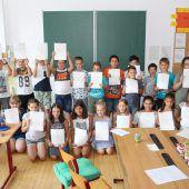 Frastanzer Volksschüler starten als Erste in die Sommerferien
