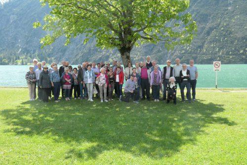 Die Schwarzacher Senioren machten einen Tagesausflug an den Tegenersee. sb