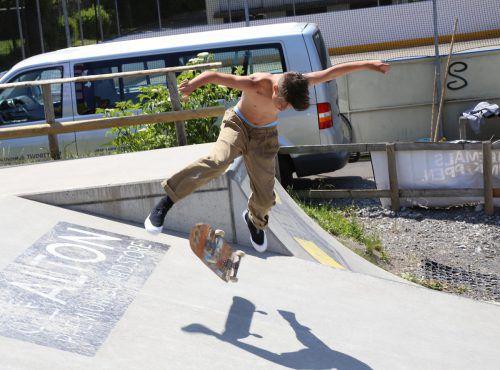 Die Skaterszene zeigte beim Skate & Blade Cup ihr Können. ETU