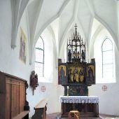 Über 500 Jahre alte Schlinser Kapelle aufwendig restauriert