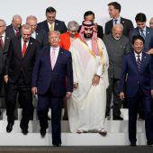 Klimastreit beim G20-Gipfel