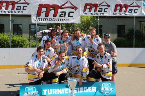 Die Street Hornets aus Bürs konnten sich zum bereits dritten Mal den Titel beim Inline-Cup holen.VStyleHockey