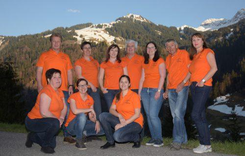 Die Vereinsmitglieder sind sehr engagiert und aktiv unterwegs.