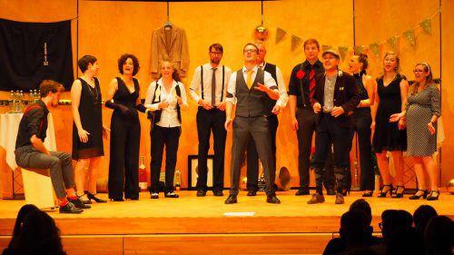 Die Vocapellas überzeugten im Mäderer J.J.-Ender-Saal mit ihrem Gesang. egle