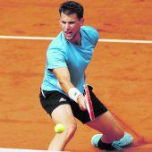 Thiem mit kleinem Vorteil gegen Djokovic