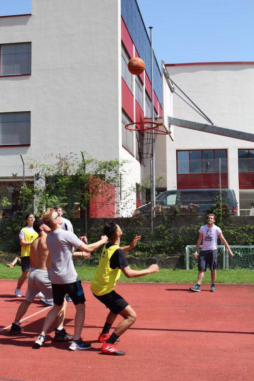 Drei Disziplinen, u.a. Streetball, standen auf dem Programm.
