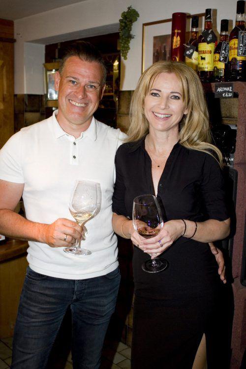 Ebenso unter den Gästen: Andreas und Claudia Larcher.