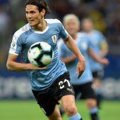Uruguay mitdominanter Leistung