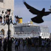 Kreuzfahrttourismus in Venedig bangt um seine Zukunft