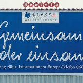 Vor 25 Jahren haben die Österreicher Ja zur Europäischen Union gesagt