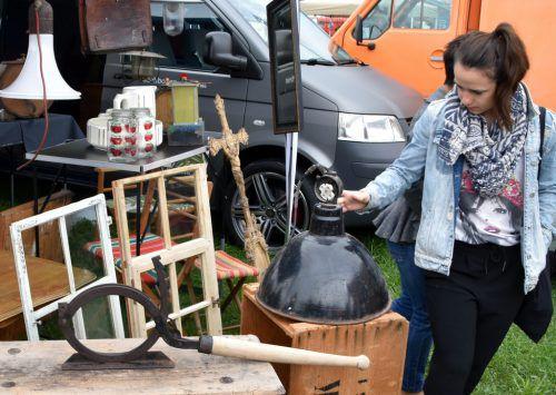 Einiges zu entdecken gibt es am Sonntag beim großen Flohmarkt des SCR Altach. LOA