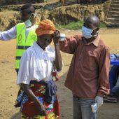 Ebola aus dem Kongo breitet sich aus
