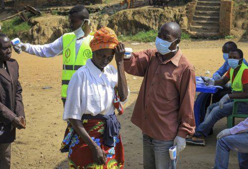 Erster Ebola-Fall in Uganda: Ein fünfjähriges Kind ist gestorben. AP