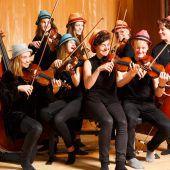Wir spielen Fiddelmusik aus ganz Europa