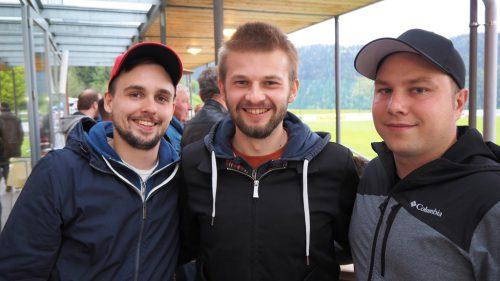 Fans des FC Fraxern: Lucas und Roman.