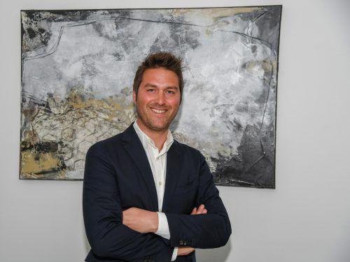 Daniel Zerlauth leitet die Geschicke bei Tecnoplast in Höchst. VN/Lerch
