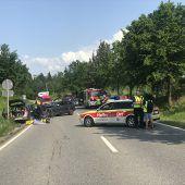 Tödliche Kollision in Lindau. B1
