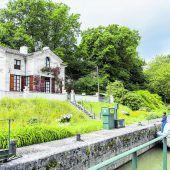 Fahrt auf dem Canal de Garonne