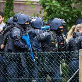 Terroranschlag in Bregenz: Polizei probte Einsatz im Ernstfall. B1